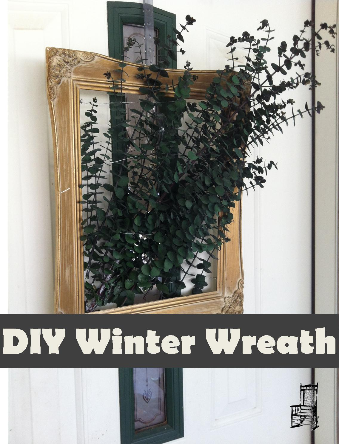 DIY Winter Wreath from The Front Poarch